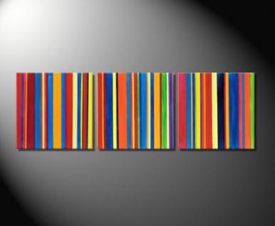 "Fiona Ritz ""BARCODE III"" Moderne , abstrakte Kunst"