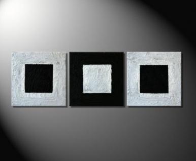 """Fiona Ritz """"SILVER SQUARE"""" Moderne Kunst, abstrakt"""