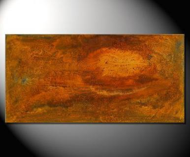 """Fiona Ritz """"ROST I"""" Moderne Kunst, Strukturbild"""