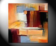 """Fiona Ritz """"City III"""" Moderne Kunst,"""