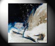 """Fiona Ritz """"SNOW"""" Moderne Kunst, abstrakte Malerei"""