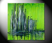 "Fiona Ritz ""GREEN"" Moderne Kunst,"