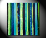 "Fiona Ritz ""JUNGLE LINES"" Moderne Kunst,"