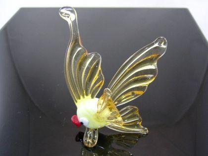 Fisch Gold klein 1 - Glastier