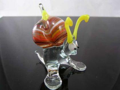 Schnecke 11-12 - Glastier