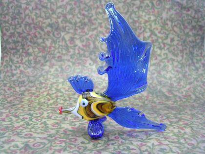 Fisch 1 - Glastier