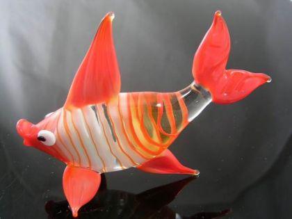 Korallenfisch -Glasfigur-3-20