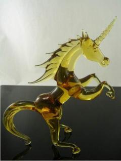 Einhorn Glasfigur 1-21