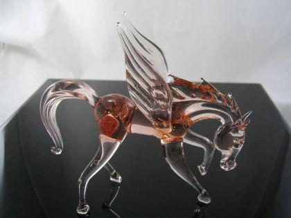 Pegasus Glasfigur 3-21