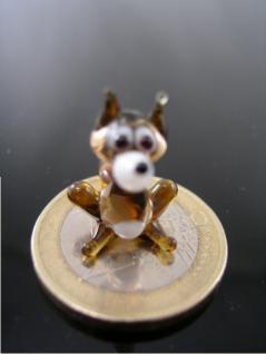 Wolf mini-Glasfigur