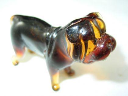 Hund-Dog-Bordeauxdogge Glasfigur-7-2