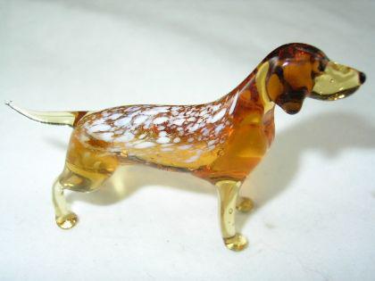 Hund-Dog-Vorstehhund Glasfigur-23-2