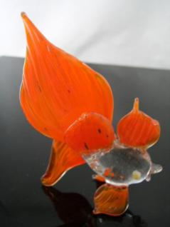 Fisch orange 1-Glasfigur
