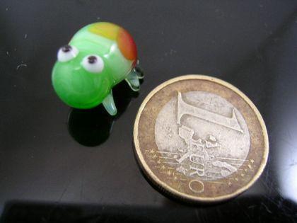 Frosch mini -Glastier-Glasfigur-k-2-hellgrün