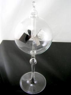 Lichtmühle-Solar Radiometer-Stehend-Klarglas-Hoher