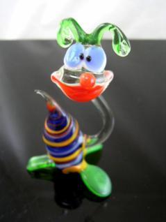 Schnecke lustig-Glasfigur-Glastier-Glasfiguren