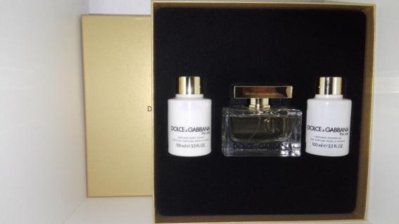 Dolce Gabbana The One 75 ML EDP+100ml Bodylotion+100ml Duschgel