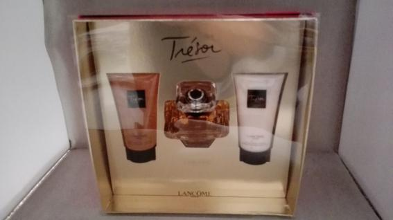 Lancome Tresor 50ml Eau de Parfum+ 50ml Duschgel+50ml Bodylotion SET