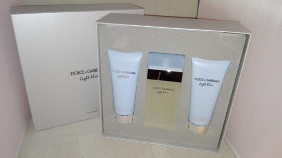 Dolce Gabbana Light Blue 100ml Eau de Toilette +100ml BL+100ml Duschgel Set
