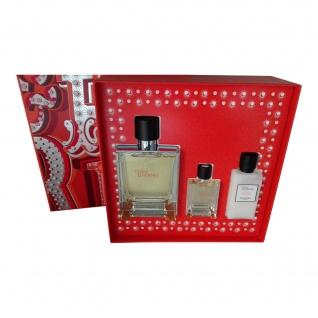 Hermes Terre d'Hermes 100 ml EDT + EDT 12, 5 ml + AS 40 ml SET