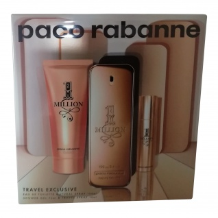 Paco Rabanne 1 MILLION 100 ML EDT + 10 ML EDT + 100 ML DUSCHGEL