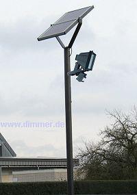 Solarleuchte für Müllcontainer Mülltonnenstellplatz - Vorschau 1