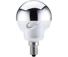 Energiesparlampe Globe Kopfspiegel 10W E27