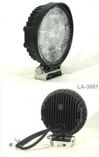 LED KFZ Arbeitsscheinwerfer 12V - 24V IP67 18W (180W)