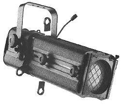 Zoom-Profilscheinwerfer 500W 20°-40°