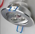 Power-LED-Einbauleuchte Alu 5W schwenkbar