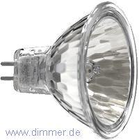 Alu Reflektorlampe MR16 50W 12V 50mm 1