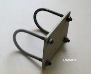 Mastbefestigung 60mm für Strahler und Leuchten