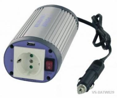 Spannungswandler 12V 24V / 230V 150VA Kompakt