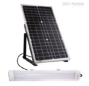 Autarke LED Haltestellenbeleuchtung Solar PV
