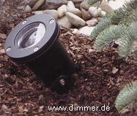 LED Gartenstrahler schwenkbar mit Erdspieß