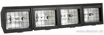 Fluter Rampe LAF 4x 500, Oberlichtrampe low-cost