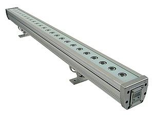 RGB-LED Wall-Washer Balken 0, 5m / 1m für Aussen