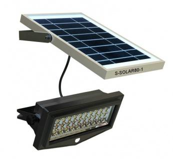 Solarleuchte für Haltestelle mit Bewegungsmelder