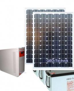 Solar Photovoltaik Stromversorgungs-Anlage 230V 1000W Sinus