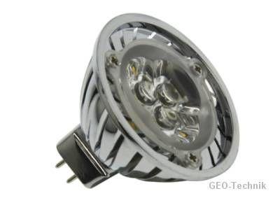 Power LED MR16 3W Reflektorlampe