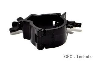 Klapphaken 50mm aus Alu-Guss, 100 kg schwarz