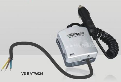 Mini Wechselrichter 24V / 230V 75W KFZ LKW