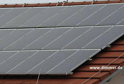 Photovoltaik Solaranlage Inselsystem 230V 3kW Dauerbetrieb