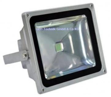 LED Fluter Aussen 30W grau