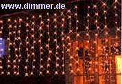 LED-Lichtervorhang für Außen