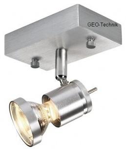 LED Deckenstrahler Astro 1 Aluminium