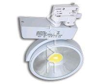 COB LED Strahler 20W für Stromschiene