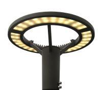 LED Pilzleuchte Saturn-Ring 50W für öffentlichen Raum