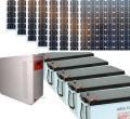 PV Solar Stromversorgung Inselanlage 230V 3000W