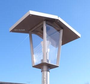 LED Mastleuchte Solar Laterne Unique